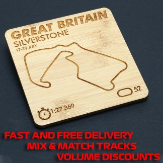 Track Map Products