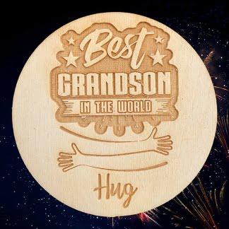 best grandson hug
